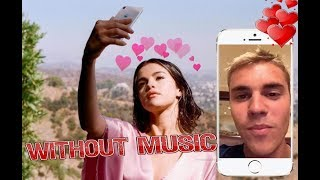 Selena Gomez & Justin Bieber FLIRT - Wolves - Without Music