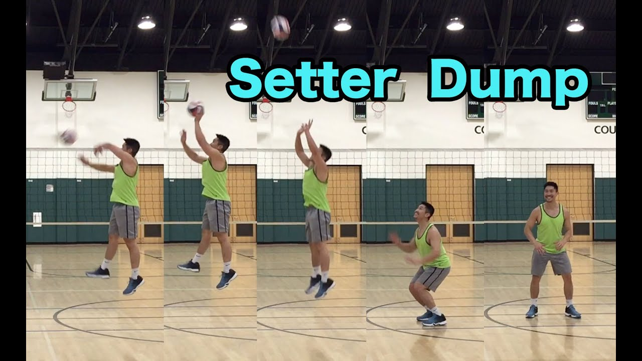 Volleyball Wallpaper Quotes Setter Dump Volleyball Tutorial Youtube