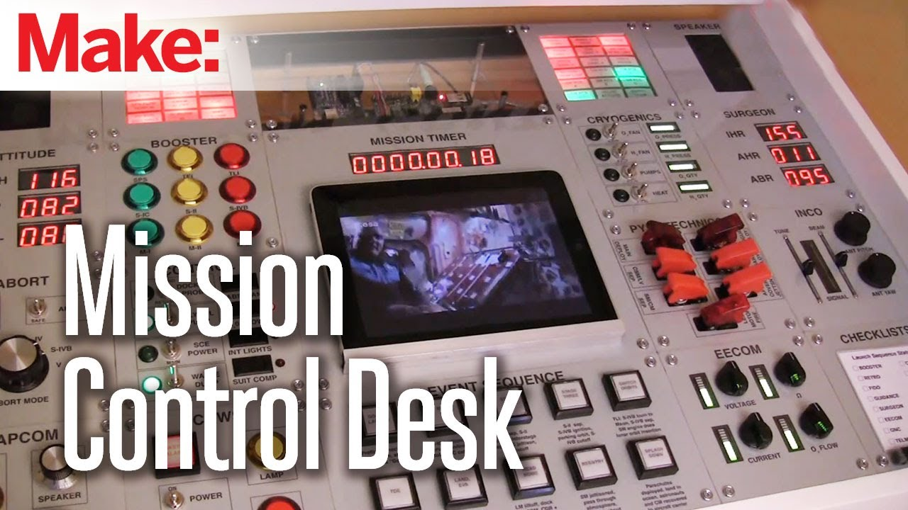 maxresdefault making fun mission control desk youtube Ventline Range Hood Wiring Diagram at cos-gaming.co