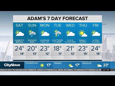 June kicks off with warm temperatures