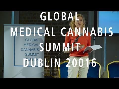 Dr Catherine Jacobson Global Medical Cannabis Summit Dublin 2016