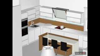 www.nonoart.hu, Nolte Trend Lack, konyha, kitchen, küche