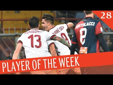 PLAYER OF THE WEEK - Giornata 28 - Serie A TIM 2017/18