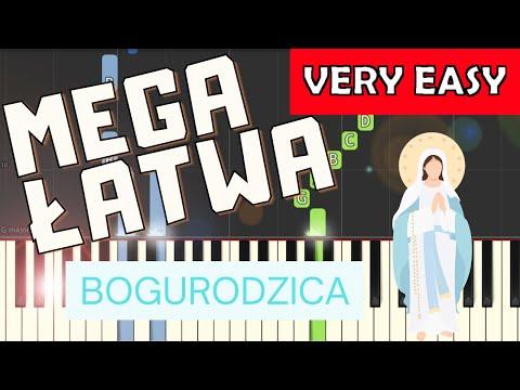 🎹 Bogurodzica - Piano Tutorial (MEGA ŁATWA wersja) 🎹