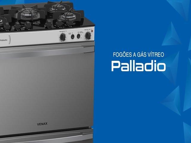 Fogão a gás Vítreo Venax – Palladio 4 e 5 queimadores