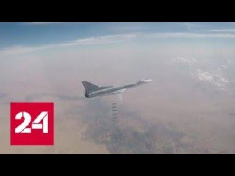 Шесть российских самолетов разбомбили террористов под Абу-Кемалем - Россия 24