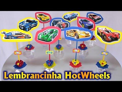 Lembrancinhas Centro De Mesa Tema Hotwheels Para Festa Fiesta
