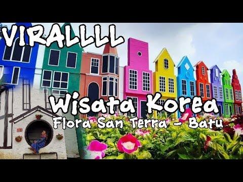 viral!!!-wisata-korea,-flora-san-terra---batu