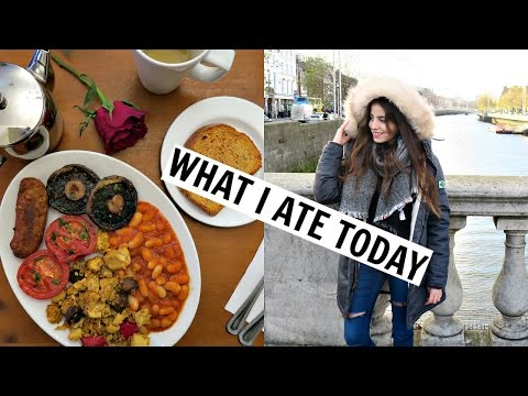 Dublin What I Ate/Did Today + Hostel Room tour & wax Museum