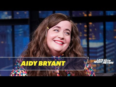 Aidy Bryant Made Harry Styles Eat out of a Trash Can