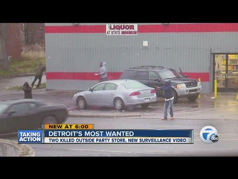 Detroit's Most Wanted: Surveillance video may lead to murder suspects