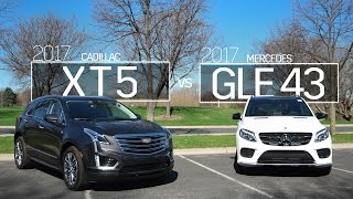 2017 Cadillac XT5 vs 2017 Mercedes GLE 43 | Model Comparison | Driving Review