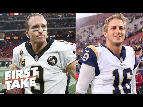 Stephen A.: Drew Brees wins the MVP by beating Rams in Week 9 | First Take
