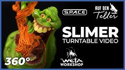 SLIMER Mini Epics Vinyl Figure | Weta Workshop | Ghostbusters | S.P.A.C.E | space-figuren.de
