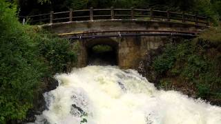 Pont de l'ile crue pont cheran 30m3
