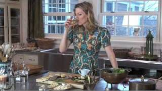 New Tracy Porter Cooking Video... Petite Blue Cheesecakes