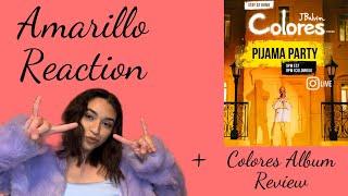 J Balvin- Amarillo | Official Music Video Reaction + Album Review !!