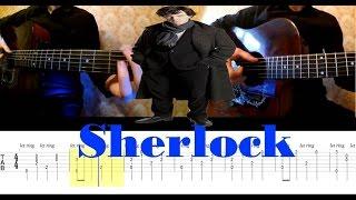 Как играть тему из Шерлока (Sherlock) на гитаре | PlayThis#1