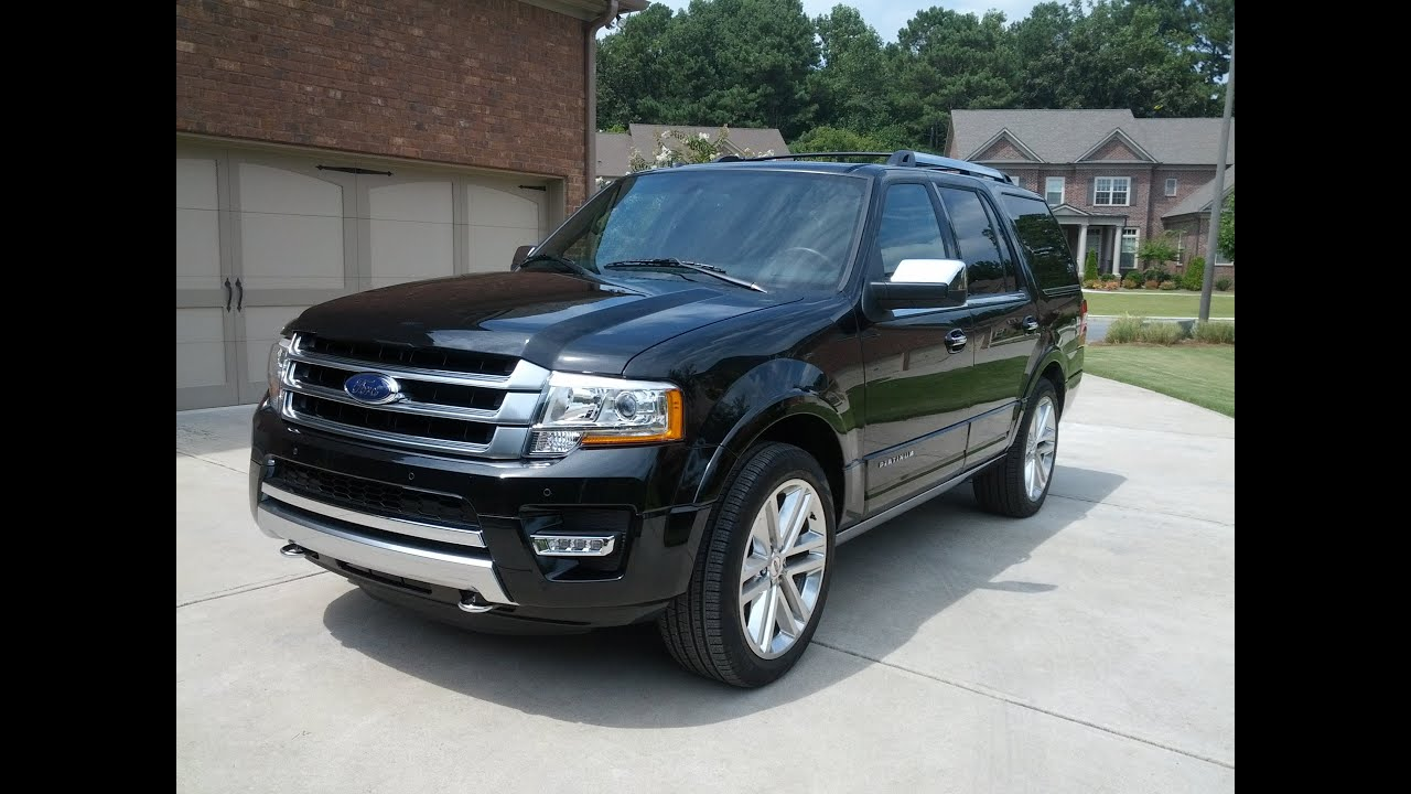 Ford Expedition Platinum 4x4 In Depth Look And Drive Youtube