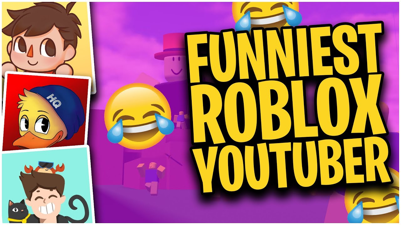 Funniest Roblox Youtubers Top 5 Crazy Funny Roblox Youtubers Youtube