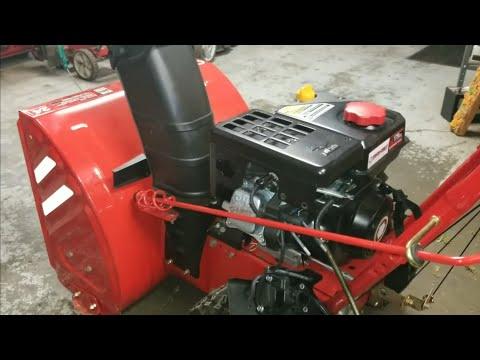 Troy Bilt MTD Snow Blower Repair Carburetor Ultrasonic Cleaning