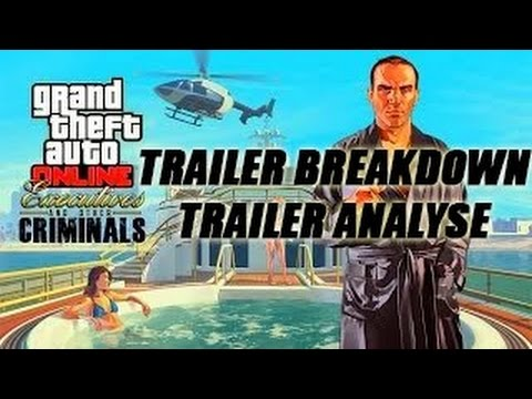 GTA 5 Online NEW Executives DLC Trailer Breakdown ANALYSE | MANSIONS, YACHTS & VILLA CONFIRMED!