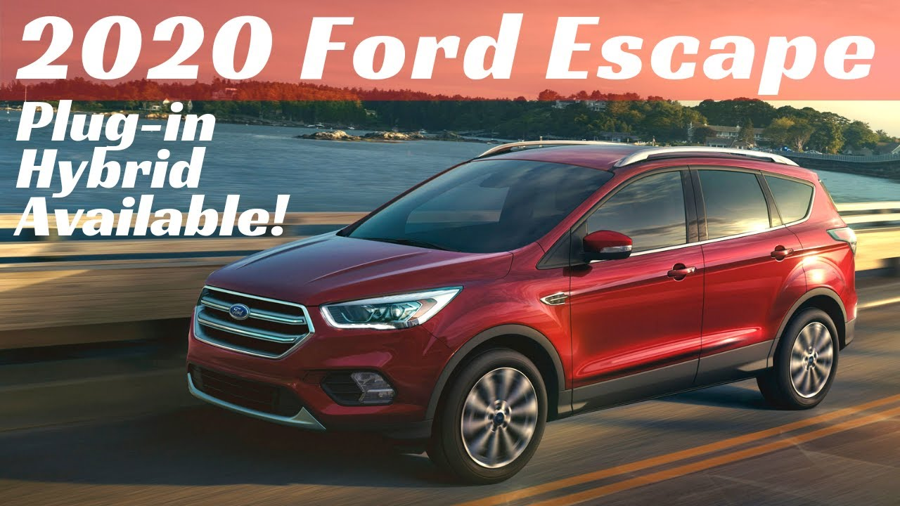 2021 Ford Escape Models And All Prices >> 2020 Ford Escape Details Plug In Hybrid Available