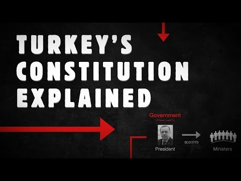 Turkeys New Constitution explained in 3 Minutes