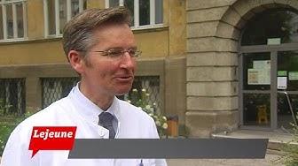 Lejeune: Prof. Dr. Siegfried Priglinger, Leiter der Augenklinik
