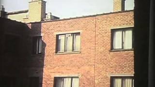 Hôtel Chamade, Gand (Belgique) (1999) by Gérard Courant - De ma chambre d'hôtel #38
