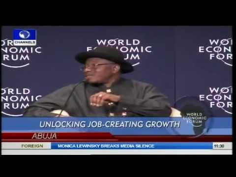 WEF Africa: Unlocking Job-Creating Growth Prt 1