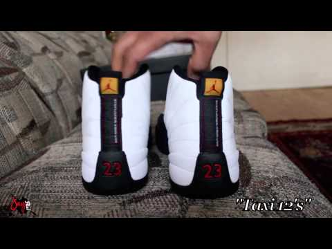 finest selection 981ff 0c0b1 Air Jordan Retro 2013 Taxi 12 Review   On Feet