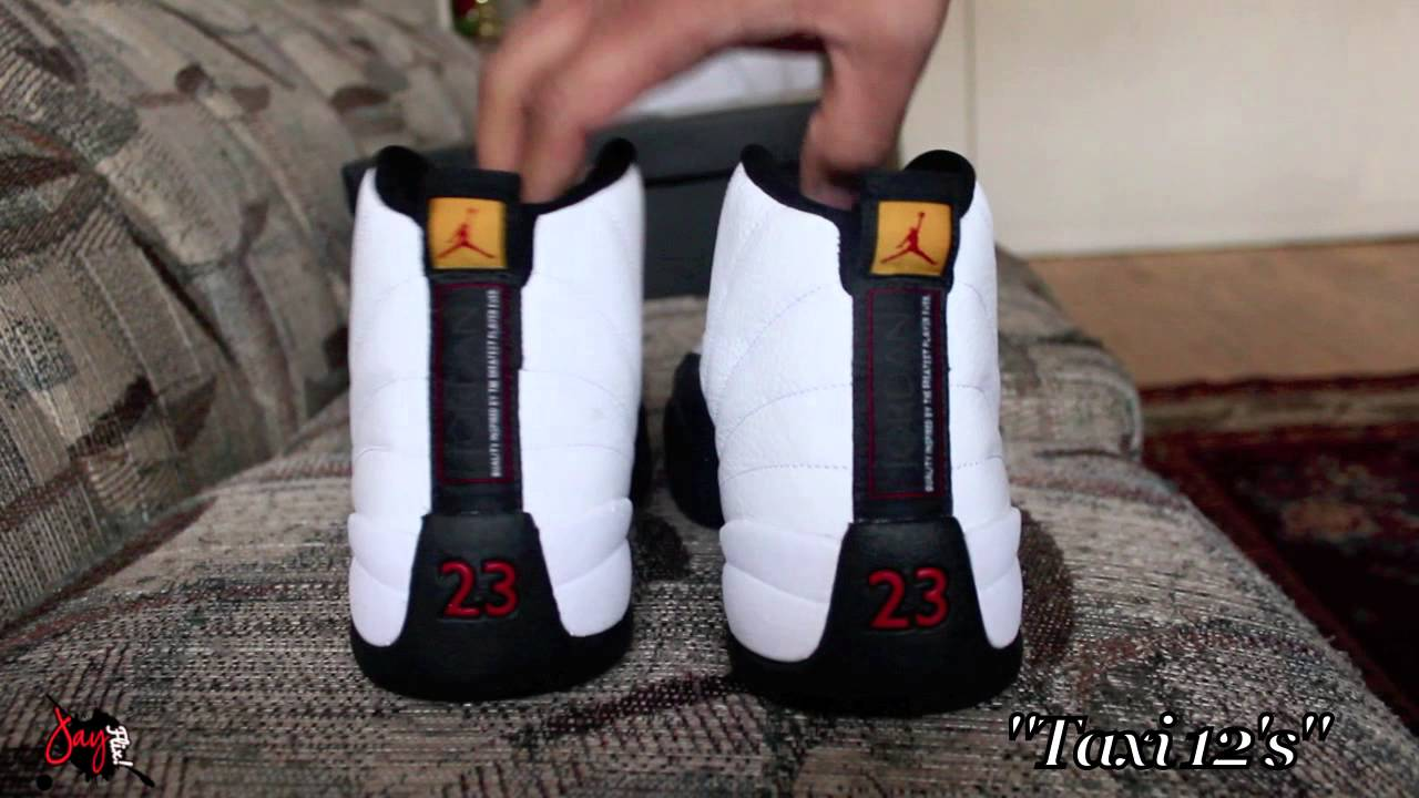 huge selection of 9458c a05b8 Air Jordan Retro 2013 Taxi 12 Review & On Feet