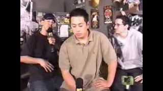 "Linkin Park clips from ""The Tom Green Show"" & hosts on ""All Things Rock"""