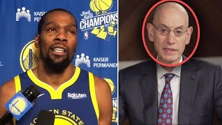 """Download Kevin Durant Says """"I Will Go Play WITH LEBRON AND THE LAKERS"""" & Silver SUSPENDS HIM For TAMPERING Mp3 and Videos"""