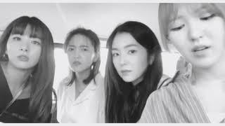 Red Velvet being myterious