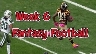 Week 6 fantasy football waiver wire adds
