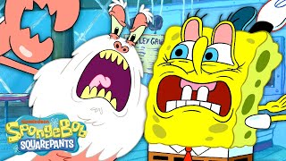 Beware The Yeti Krabs! ❄️🦀 Full Scene | SpongeBob