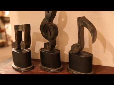 Uttermost 19280 Music Symbol Figurines