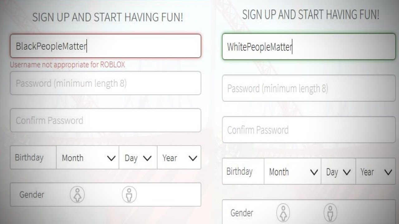 Funny racist usernames