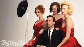 Mad Men On The Cover of Rolling Stone: Behind the Shoot