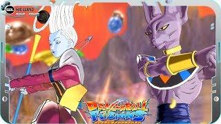 Fusion Beerus (Bills) and Whis VS Black Goku SSJ White Transformation - Dragon Ball Super Xenoverse