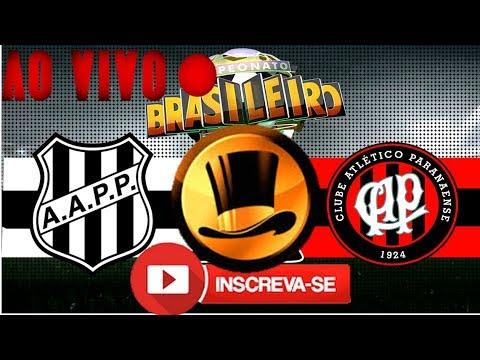 Debate Cartola  Ao Vivo Atlético PR 0 X 2 Ponte Preta  CARTOLA  PARCIAIS