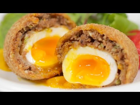 Scotch Eggs (Japanese-inspired