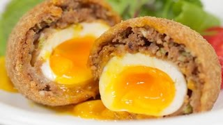 Scotch Eggs (Japanese-inspired Recipe) | Cooking with Dog