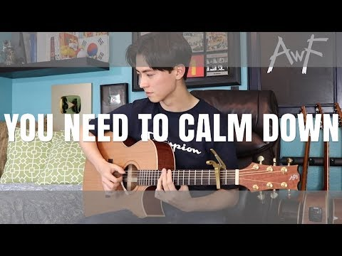 you-need-to-calm-down---taylor-swift---cover-(fingerstyle-guitar)
