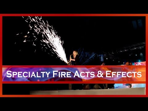 Specialty Fire Acts & Fire Effects - Pyro, Sparks & Fire - South Africa