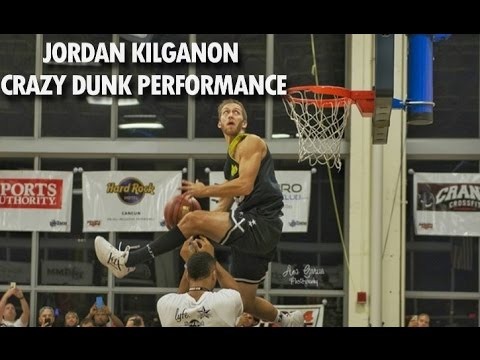Jordan Kilganon PUTS ON A SHOW at Hoops4Hope Dunk Contest