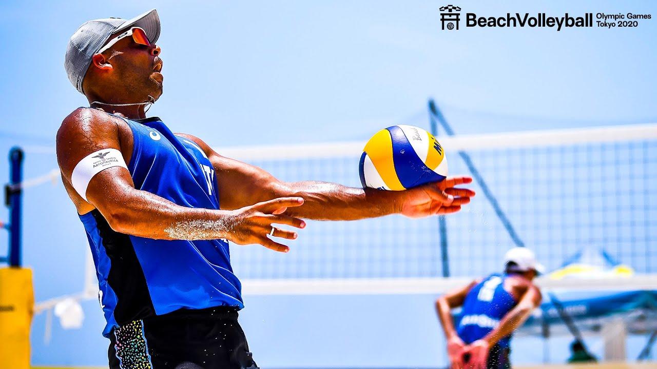 Best of Adrian Carambula 🇮🇹  MR. SKYBALL! | Beach Volleyball World