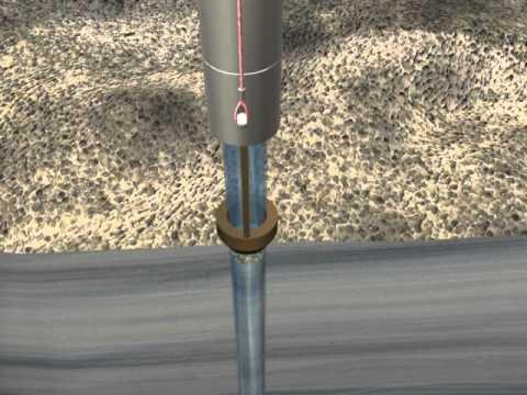 Animation - sediment corer